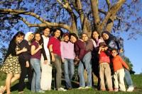 Bersama teman-teman penerima beasiswa ADS di St Lucia 2010 (saya sebelah kiri masih inyis-inyis)